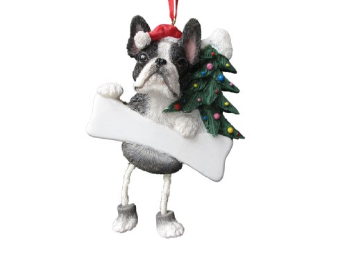 Boston Terrier Ornament with Unique