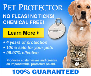 No more ticks and fleas
