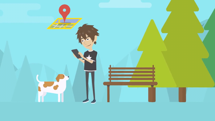 Mobile software for dog owners